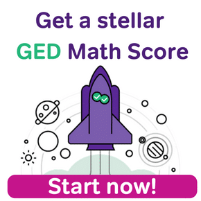 Get a stellar GED Math score. Start now!