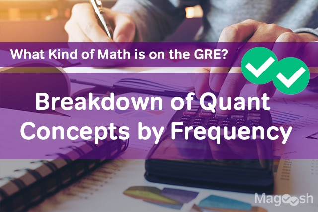 What Kind of Math is on the GRE? Breakdown of Quant Concepts