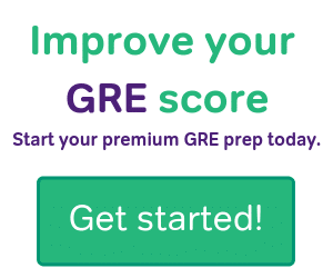 Improve your GRE score with Magoosh.