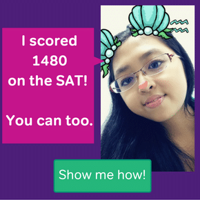 Karen scored a 1480 on the SAT with Magoosh.
