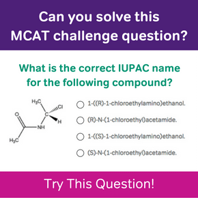 Can you solve this MCAT challenge question?