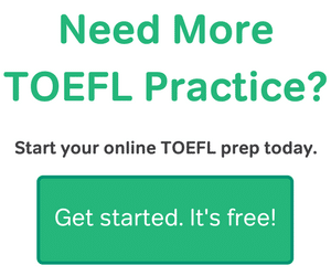 Practice for your TOEFL exam with Magoosh.